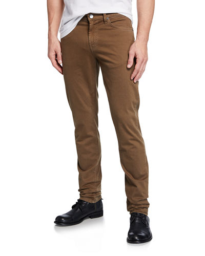 Men's Tyler Slim-Fit Brushed Stretch Twill Pants