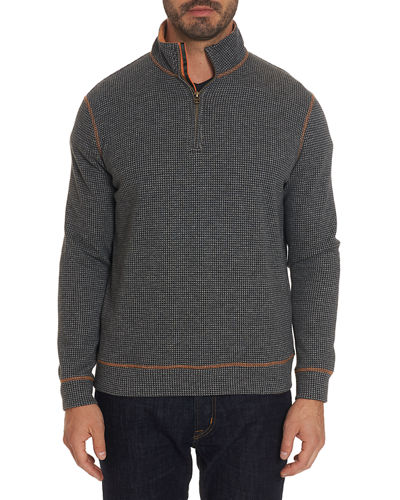 Men's Zip Pullover Sweater