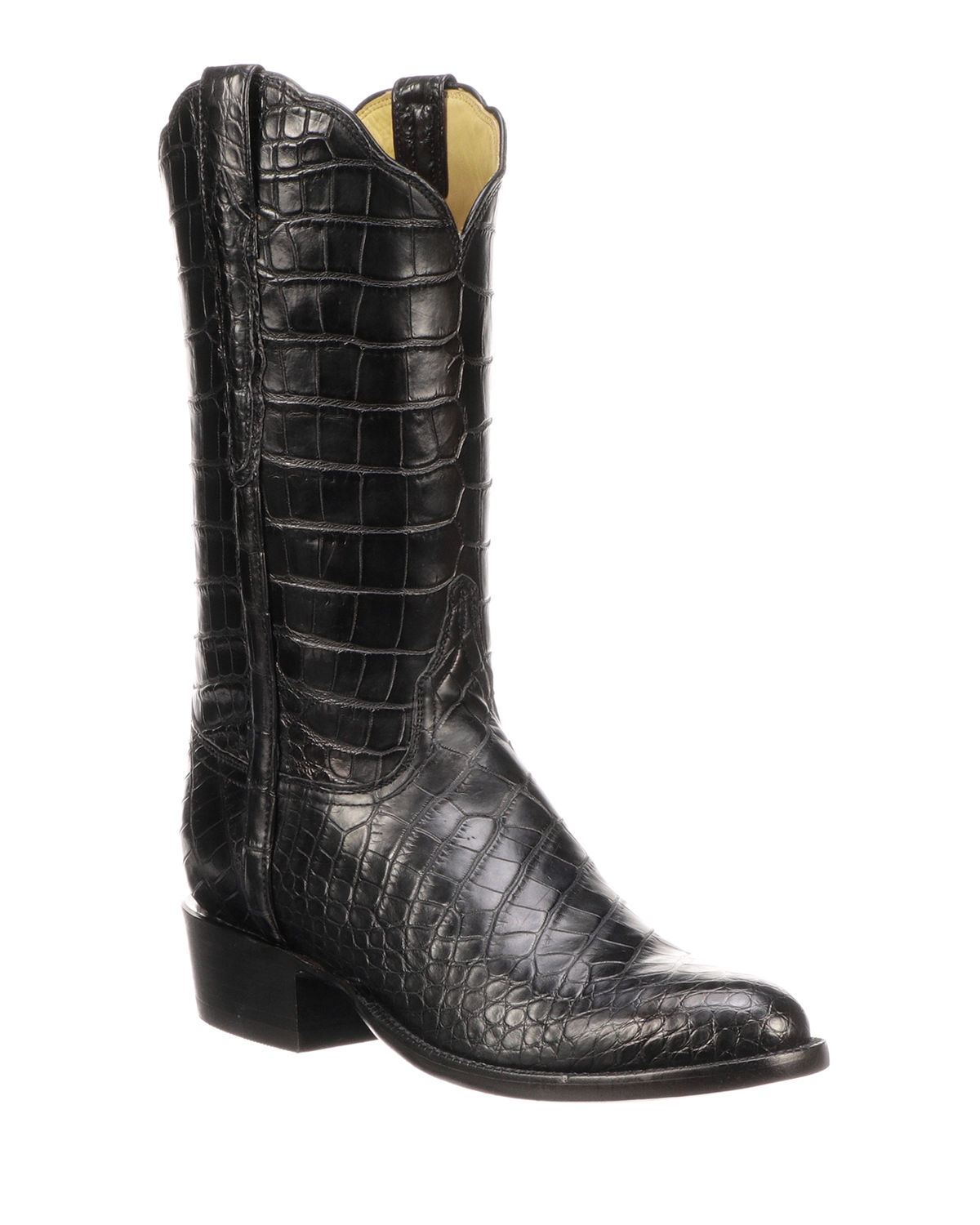 910ee200b5aef Lucchese Men s Baron Gator Western Boots