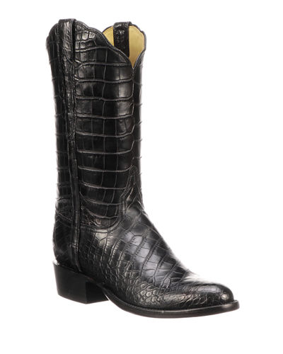 40c0c6738ce8 Quick Look. Lucchese · Men s Baron Gator Western Boots. Available in Black