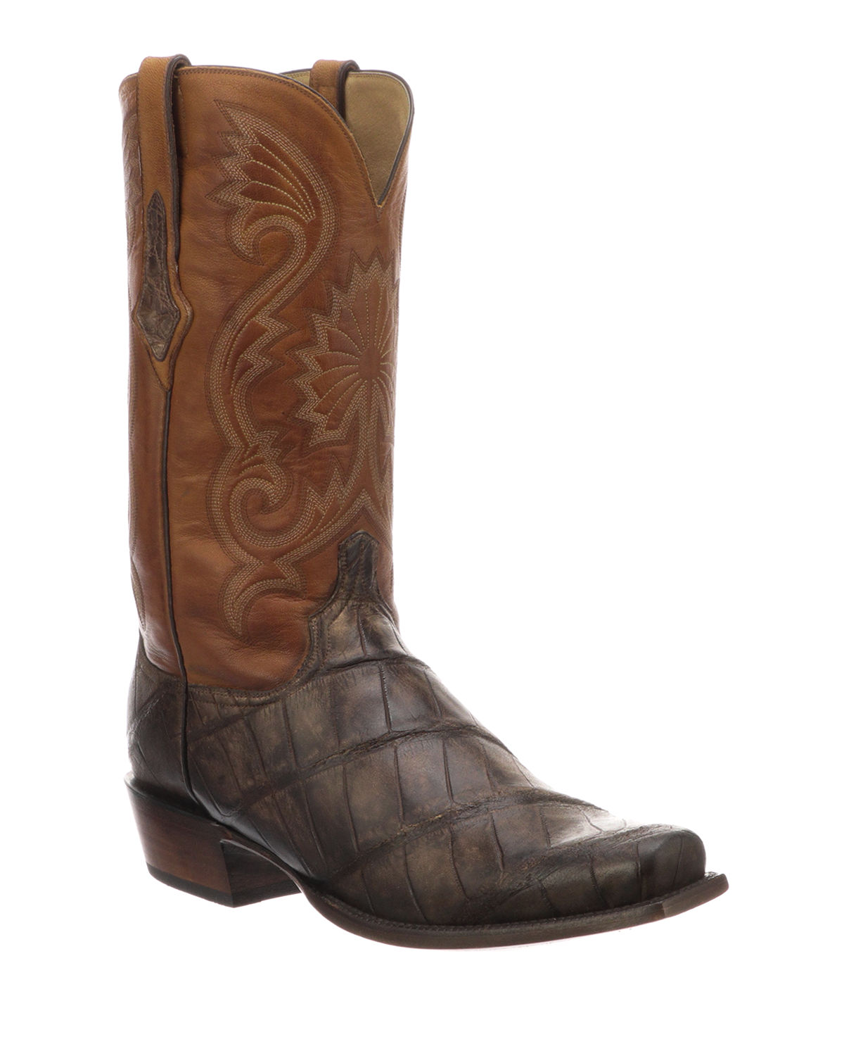87930f4f78b Men's Rio Gator Leather Western Cowboy Boots