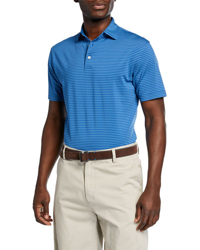 6f9205c6a25 Quick Look. Peter Millar · Men's Sean Striped Jersey Polo Shirt