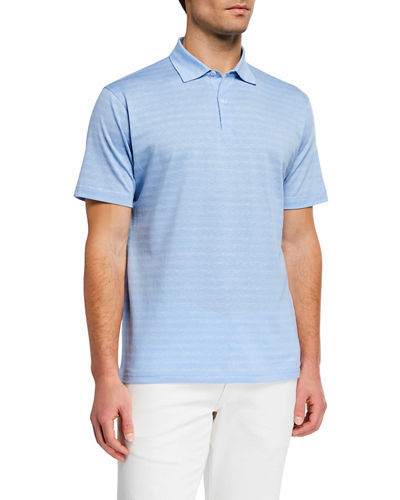 e86b42f6 Quick Look. Peter Millar · Men's Vintage Coast Linen-Blend Polo Shirt