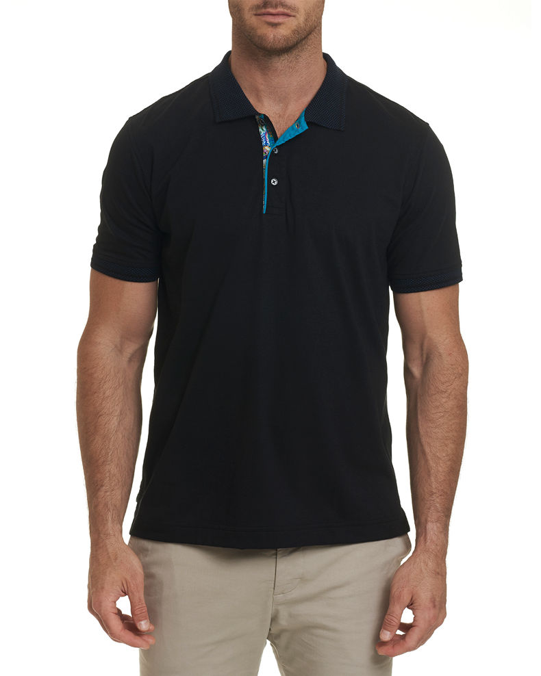 Robert Graham Men's Short Sleeve Westan Polo Shirt