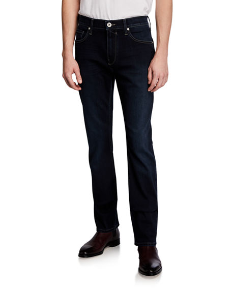 PAIGE Men's Federal Slim Straight Denim