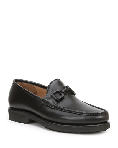 Men's Falcone Horsebit Leather Loafers