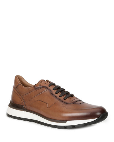 Men's Davio Leather Sneakers