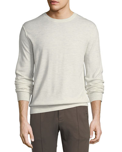 Men's Heathered Crewneck Sweater