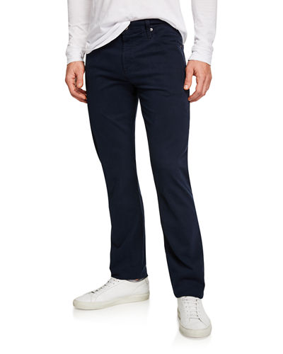Men's Everett Slim-Straight Twill Pants