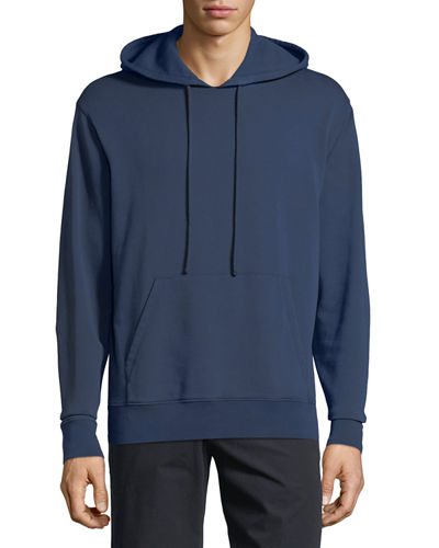 Solid Jersey Pullover Hoodie