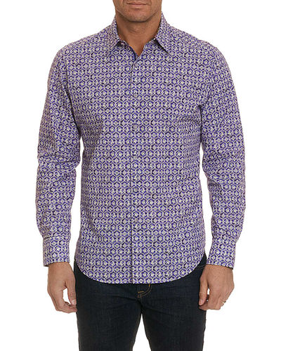 Men's Tresco Geo Graphic Sport Shirt