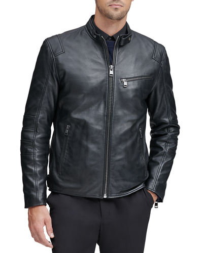 Men's Weston Moto-Leather Jacket