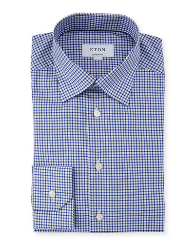 Men's Textured Twill Dress Shirt