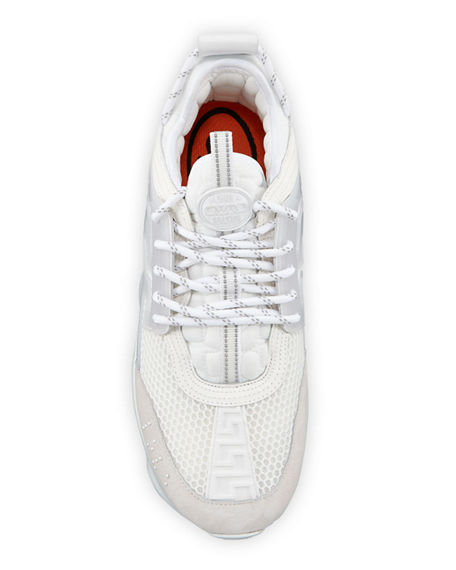 Image 2 of 4: Versace Men's Chain Reaction Caged Sneakers