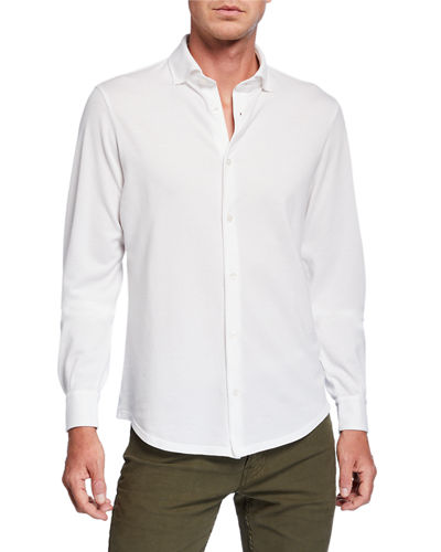 Men's Frosted Pique Sport Shirt