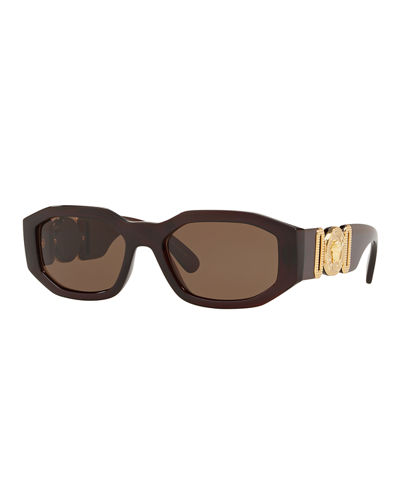 7bdaedb80dd Quick Look. Versace · Men s Geometric Propionate Sunglasses
