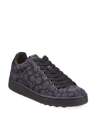 Men's C101 Neoprene Low-Top Sneakers