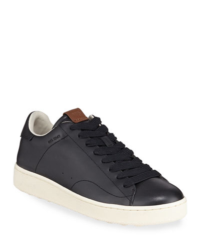 Men's C101 Leather Low-Top Sneakers