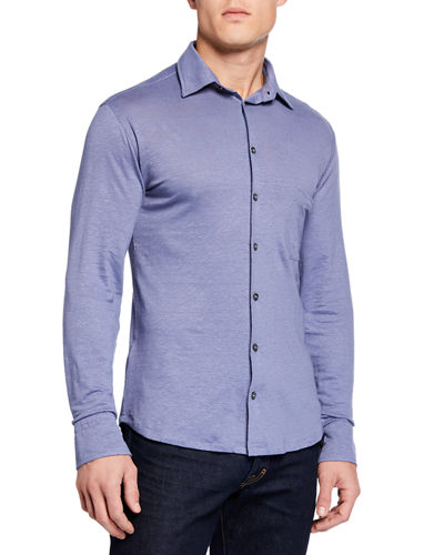 Men's Long-Sleeve Sport Shirt