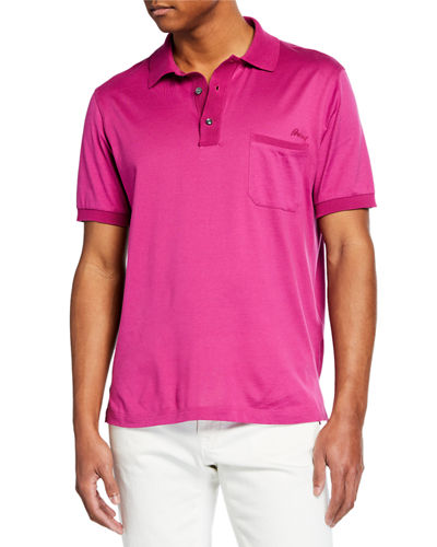6c2ab770 Quick Look. Brioni · Men's Jersey Polo ...