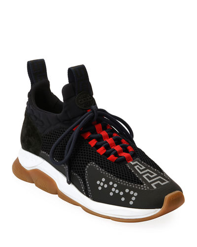Men's Cross Chainer Neoprene & Mesh Sneakers