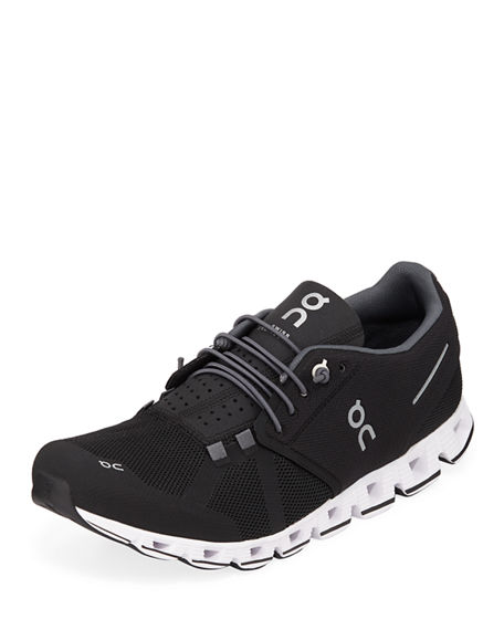On Men's Cloud Cushioned Knit Sneakers