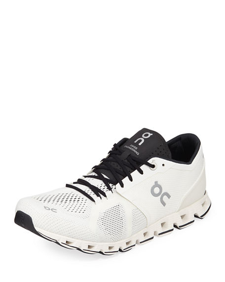 On Men's Cloud X Knit Running Sneakers