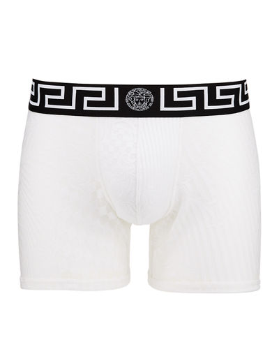 cc9a00958fa2 Quick Look. Versace · Men's Long Mesh Boxer Briefs. Available in White
