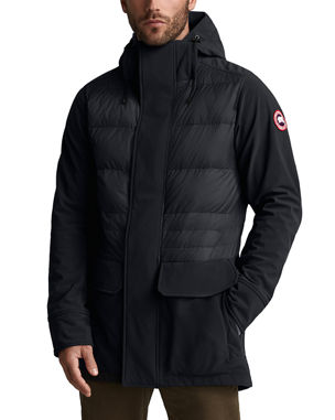 e740c0103de Canada Goose Men s Breton Quilted-Panel Coat