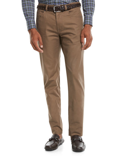Men's 5-Pocket Soft Touch Twill Pants