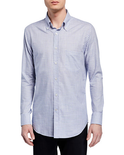 Men's Check Sport Shirt