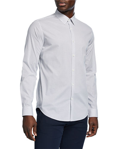Men's Murray Steel-Print Sport Shirt
