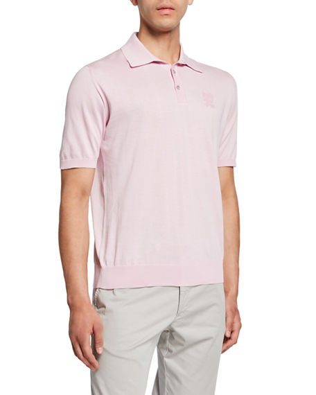 Stefano Ricci Men's Three-Button Polo Shirt