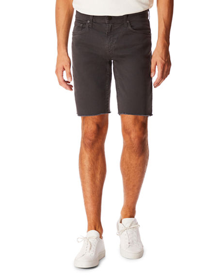 J Brand Jeans MEN'S ELI OVER-DYED CUTOFF JEAN SHORTS