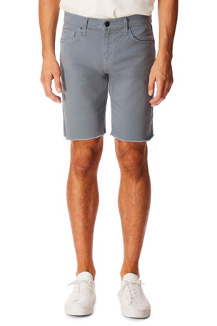 J Brand Men's Eli Over-Dyed Cutoff Jean Shorts