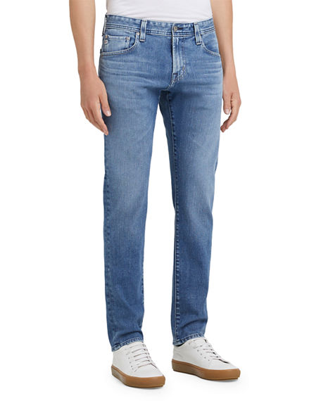 Image 1 of 2: AG Adriano Goldschmied Men's Graduate Denim Jeans
