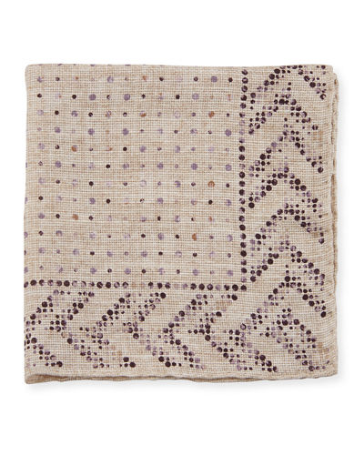 Dot-Pattern Pocket Square