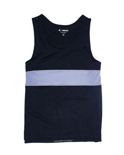 Men's Dash Striped Active Tank Top
