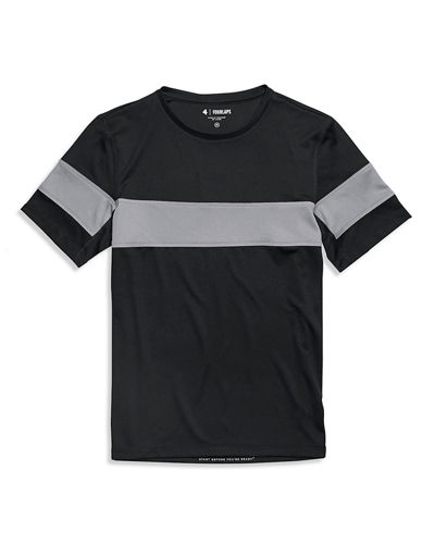 Men's Smash Active Striped T-Shirt