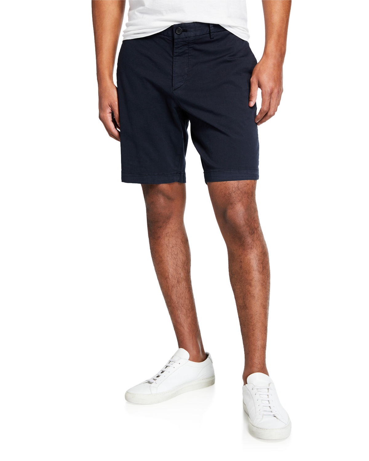 THEORY MEN'S ZAINE ECO-PATTON SLIM-FIT SHORTS