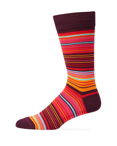 Paul Smith Men's Morrie Stripe Socks