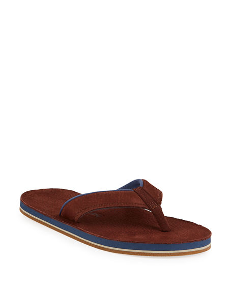 Hari Mari Men's Pier Leather Thong Sandals