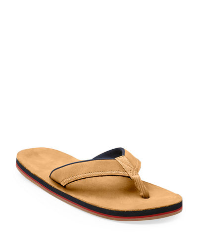 Men's Pier Leather Thong Sandals