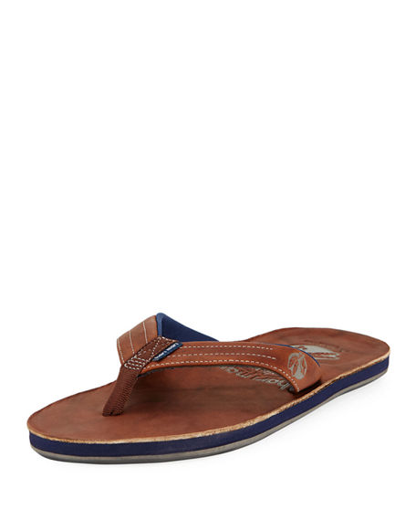 Hari Mari x Nokona Men's Leather Thong Sandals