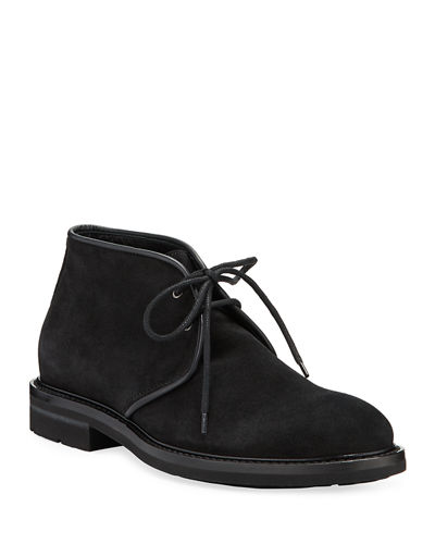 Men's Rinaldo Suede Lace-Up Chukka Boots