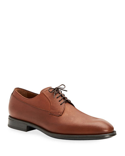 Men's Decker Scotch-Grain Lace-Up Shoes