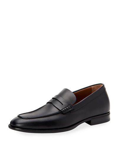 Men's Adamo Leather Dress Penny Loafers