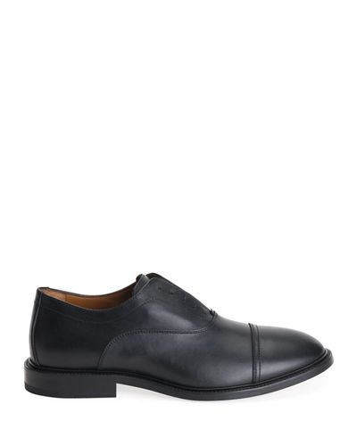 Aquatalia Men's Mattia Leather Dress Shoes