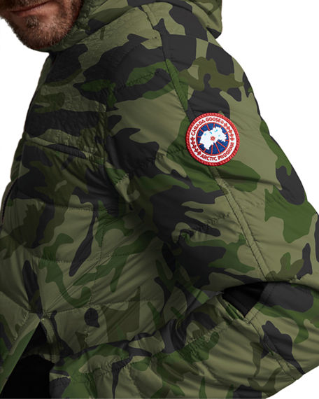 Image 2 of 3: Canada Goose Men's Cabri Quilted Hoodie Jacket