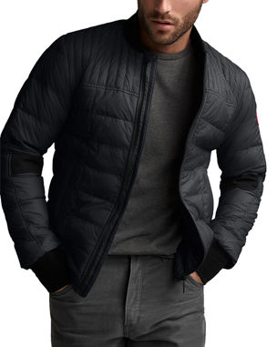 2a2b3db1f Canada Goose Men's Dunham Quilted Zip-Front Jacket
